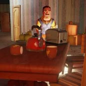 Игра Hello neighbor alpha 1