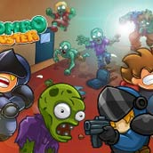 Игра Стрелять по зомби: отбить атаку - картинка