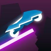Игра Райдер: неоновая гонка - картинка