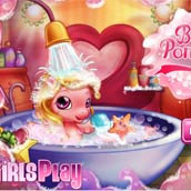 Игра Чудо пони: купаемся в ванной