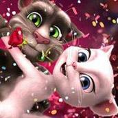 Игра Кот Том: День Святого Валентина