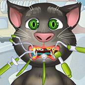 Игра Кот Том: Лечим зубы - картинка
