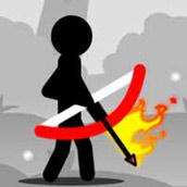Игра Стрельба из лука со Стикменом - картинка