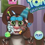 Игра Ухаживаем за котом Томом - картинка
