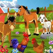 Игра Дикие и домашние животные