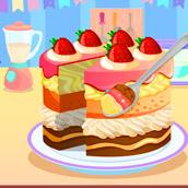 Игра Кондитерская: печем торт