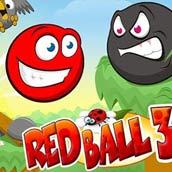 Игра Красный шар 3: спаси любимую - картинка