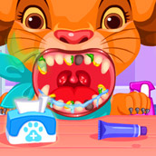 Игра Лечить животных: стоматолог
