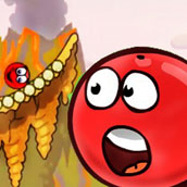 Игра Приключение красного шара
