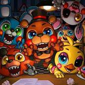 Игра 5 ночей с Фредди: аниматроники