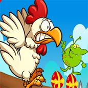 Игра Angry Chickens