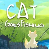 Игра Cat go fishing