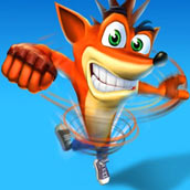 Игра Crash Bandicoot