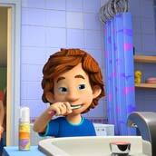 Игра Фиксики и зубная паста