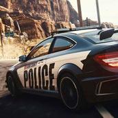 Игра Гонка с полицейскими
