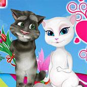 Игра Кошка Анжела беременная: ухаживаем