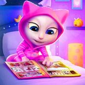 Игра Маленькая кошка Анжела - картинка