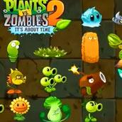 Игра Мультик зомби против растений 2