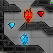 Игра Огонь и Вода на одного - картинка