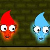 Игра Огонь и Вода: Храм ужасов - картинка