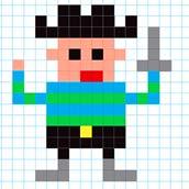 Игра Pixel Art