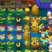 Игра Приключения растения против зомби - картинка