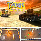 Игра Танки в лабиринте 6: новая версия - картинка