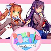 Игра Доки доки: литературный клуб