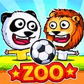 Игра Кукольный футбол в зоопарке