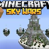 Игра Майнкрафт: скай варс