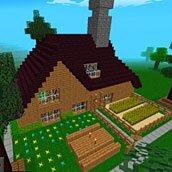 Игра Майнкрафт: строй дом