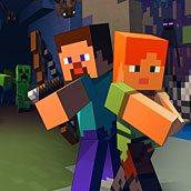 Игра Майнкрафт: зомби с оружием