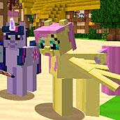 Игра Пони в майнкрафте