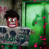 Игра Страшный лифт в Когама