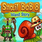 Игра Улитка Боб 8 – история на острове - картинка