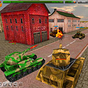 Игра 3Д танки по сети