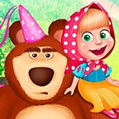 Игра Раскраски Маша и Медведь