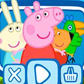 Игра Раскраски свинка Пеппа для детей
