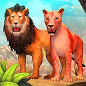 Игра Симулятор льва и пантеры