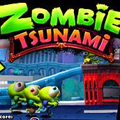 Игра Зомби цунами на андроид