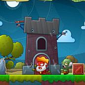 Игра Зомби возле ворот - картинка