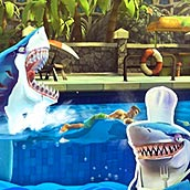Игра Акула ест людей