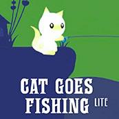 Игра Котик ловит рыбку - картинка
