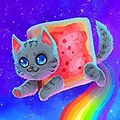 Игра Летающий кот - картинка