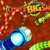 Игра Маленькая Большая змейка Ио