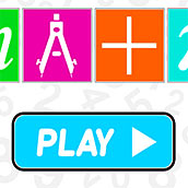 Игра Математическая для детей 4,5,6 лет