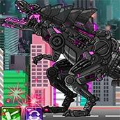 Игра Новые роботы динозавры