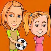 Игра Папины дочки без скачиваний
