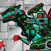Игра Роботы динозавры трансформеры