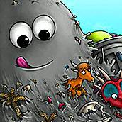 Игра Съедобная планета глазастик